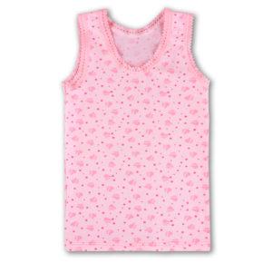 Майка для девочки арт:1-96 роз серд