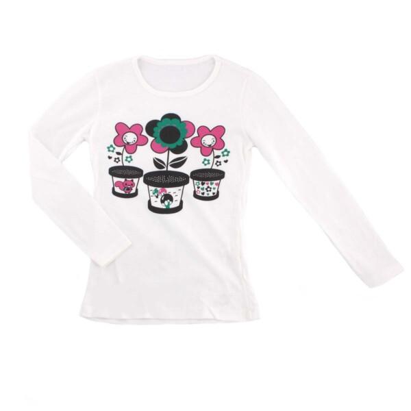 Джемпер для девочки Турция 242736 молочный