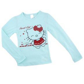 Джемпер для девочки Турция 243786 голубой
