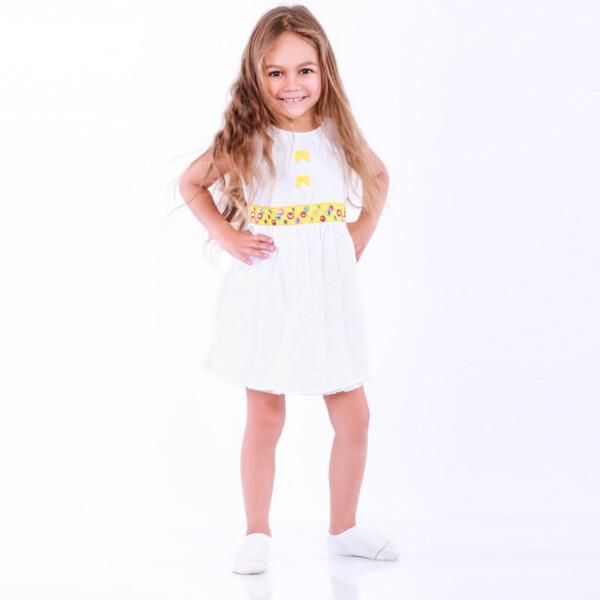 Платье арт:7-28 белое