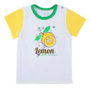 Футболка арт:1-13н-5 лимон