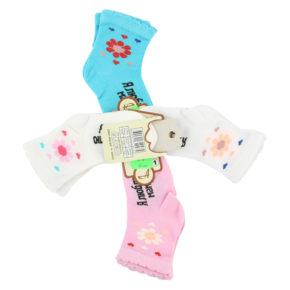 Носки цветочки арт:н-4