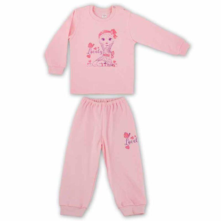 Пижама арт:91-07н-1 розовая
