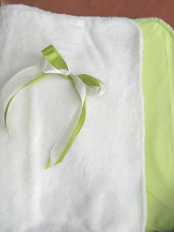 Плед-конверт арт:12-42 белый