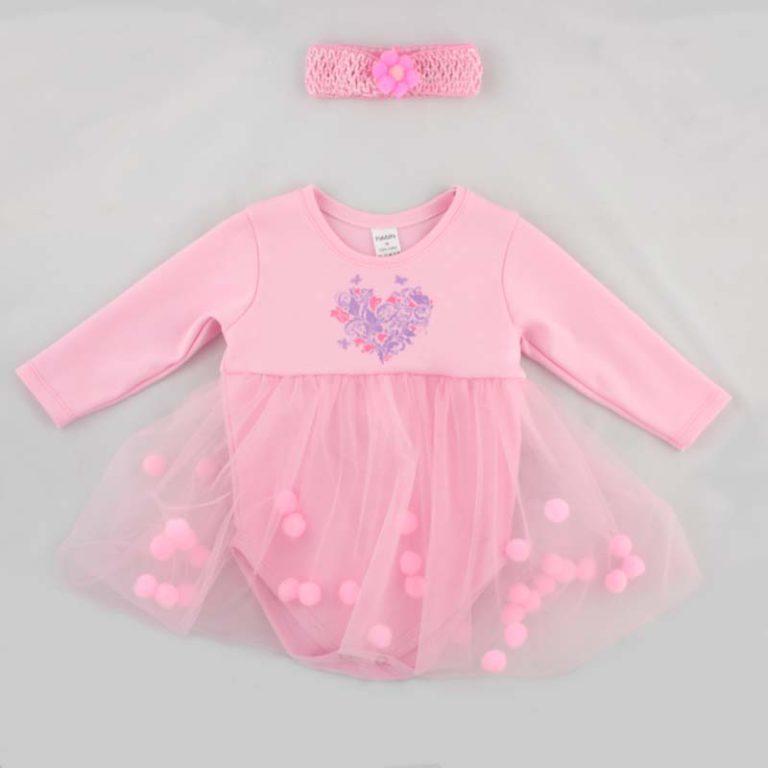 Боди-юбка PaMaYa 9-45н розовый