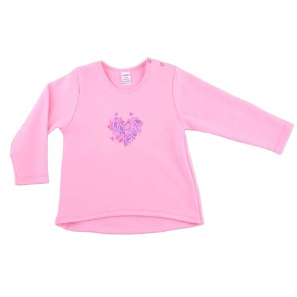 Джемпер для девочки арт:9-47н розовый