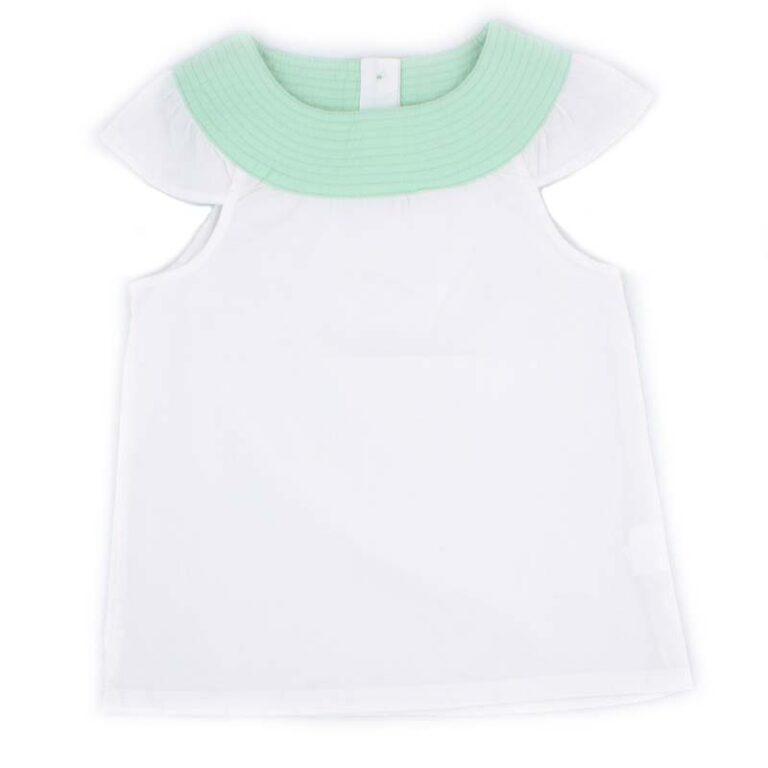 Блуза для девочки PaMaYa 232425 белая