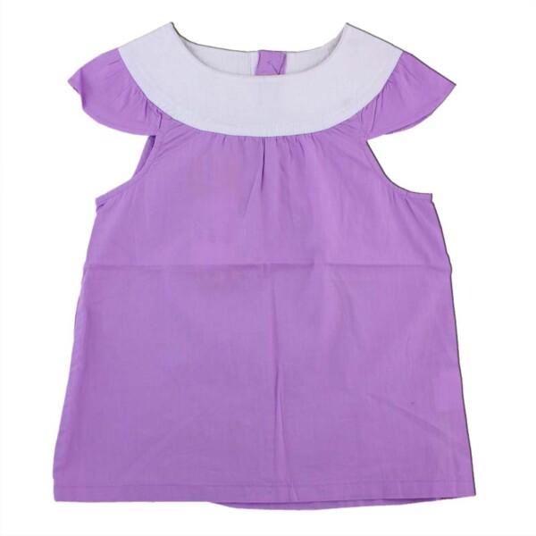 Блуза для девочки арт: 232431 сирен-бел