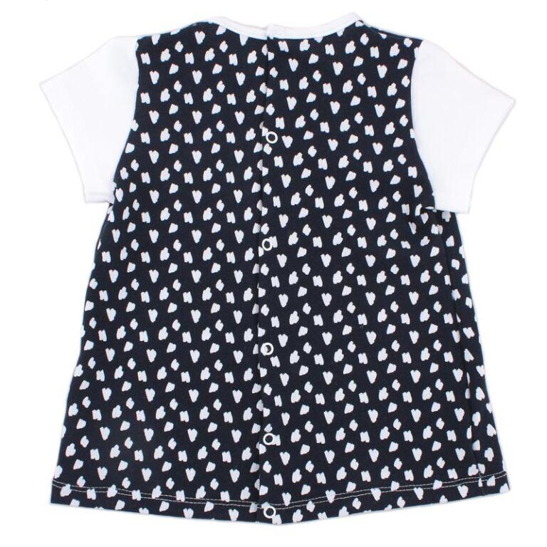 Блуза дев арт:1-46-1 тёмно-синяя