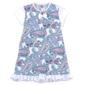 Платье короткий рукав арт:1-65 абстракция