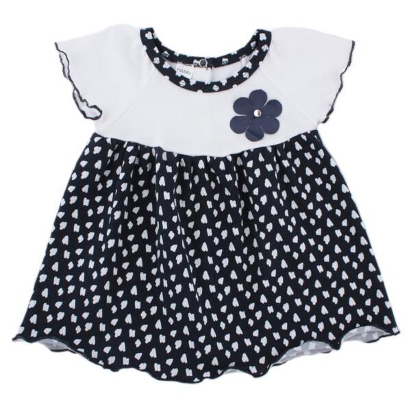 Платье арт:1-66 тёмно-синее