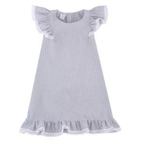 Платье арт:1-69 серая полоска