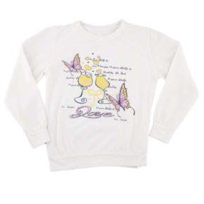 Джемпер для девочки Турция 242632 молочный