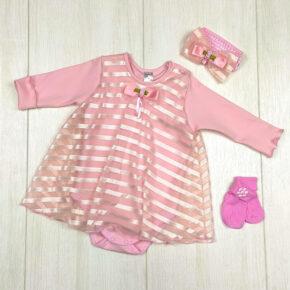 Боди-платье для девочки PaMaYa 9-12
