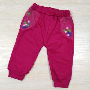 Штанишки для девочки с пампонами PaMaYa 9-05-2