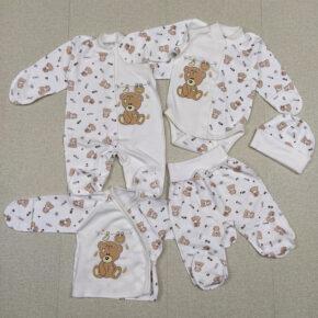 Комплект 5 предметов для новорожденных PaMaYa 9-109н