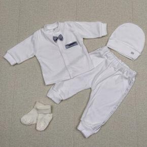 Комплект крестильный для мальчика PaMaYa 9-86-1