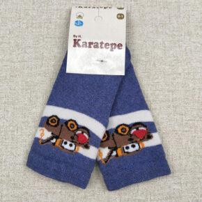 Носки для новорожденных мальчиков теплые Karatepe н-30_2