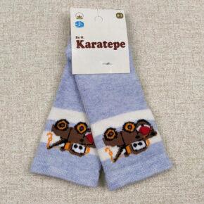 Носки для новорожденных мальчиков теплые Karatepe н-30